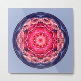Mandalas from the Heart of Surrender 12 Metal Print