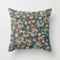 Allure flowers Throw Pillow