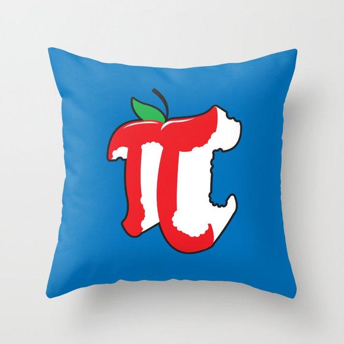 Apple Pi Throw Pillow