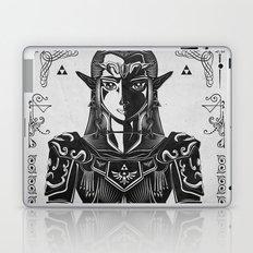 Legend of Zelda Princess Zelda Geek Art Portrait Laptop & iPad Skin