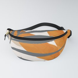 Colorful Red Leaves Fanny Pack