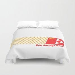 Erie Savings Bank (Red) Duvet Cover