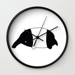 Mister Tapir Wall Clock