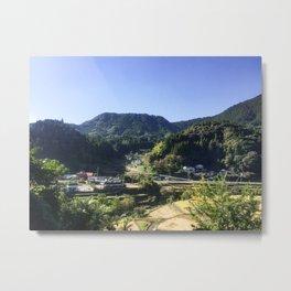 Toho Village Metal Print