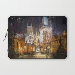 Prague, Czech Republic Laptop Sleeve