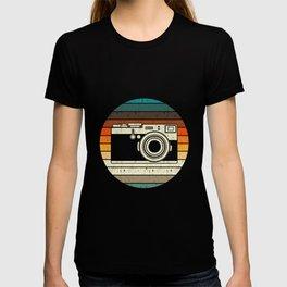 Vintage Retro Camera Photographer Gift T-shirt
