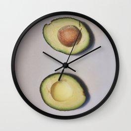 Healthy Fats | Avocado (2) Wall Clock