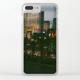 lasss vegaass Clear iPhone Case