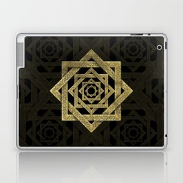 Golden Star of Lakshmi - Ashthalakshmi Laptop & iPad Skin