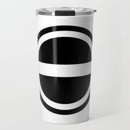 Curtis Holt Logo (Black) Travel Mug