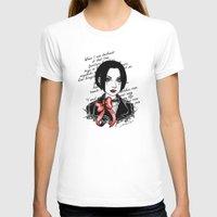 punk rock T-shirts featuring Punk Rock Queen  by The Art of Leena Cruz :)