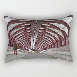 Peace Bridge Rectangular Pillow