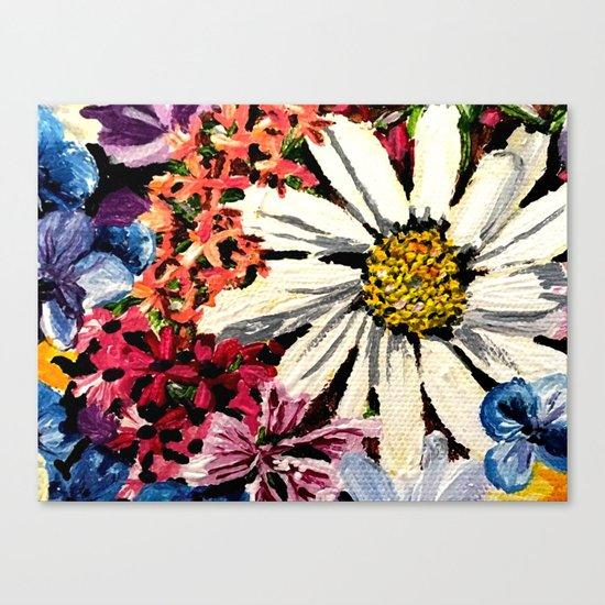 Flower Dreams Canvas Print