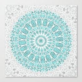 A Glittering Mandala  Canvas Print
