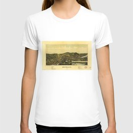 Aerial View of Milton, New Hampshire (1888) T-shirt