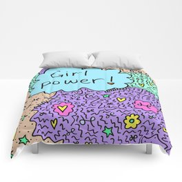 Girl power! Comforters