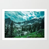 Gore Lake, Colorado Art Print