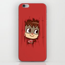 Heeeeere's..... the Villager! iPhone Skin