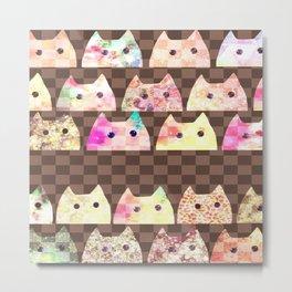 cats-282 Metal Print