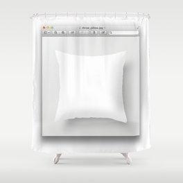 window_(computing) Shower Curtain