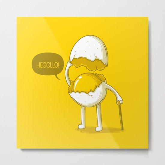 Heggllo! Metal Print