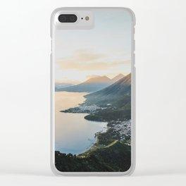 Lake Atitlán II, Guatemala Clear iPhone Case