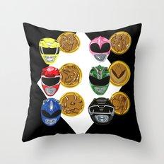 MMPR Throw Pillow
