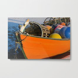 Boat and Tackle Metal Print