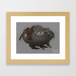 Yakbeast Framed Art Print