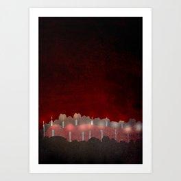 The Bloody Chamber Art Print