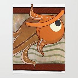 angry fish eye Poster