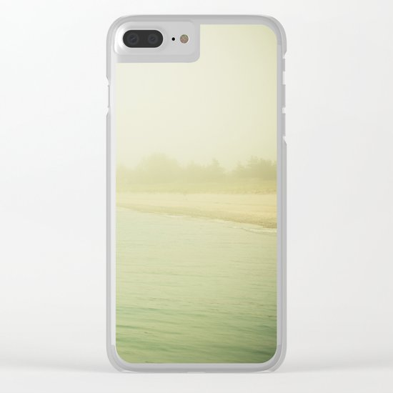 Dreams of Distant Lands Clear iPhone Case