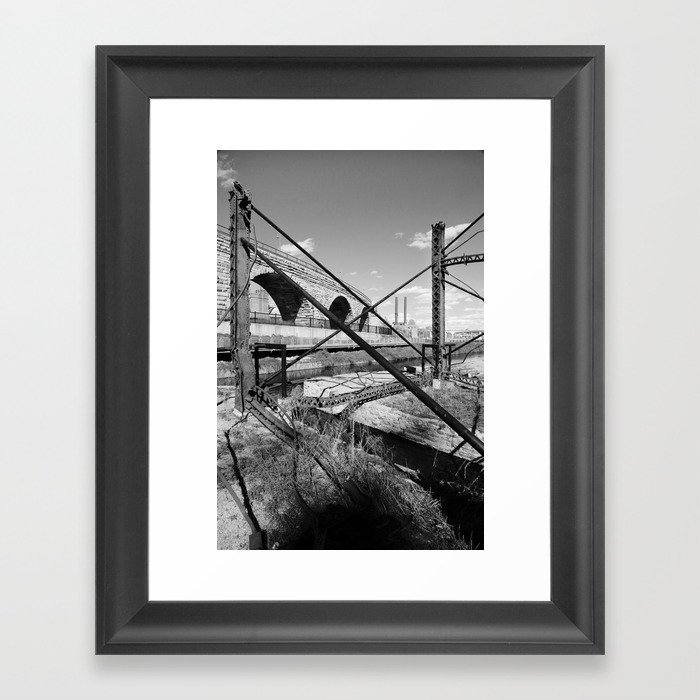 Mill District Framed Art Print