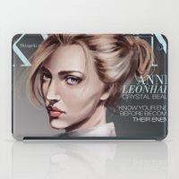 snk iPad Cases featuring SnK Magazine: Annie by putemphasis