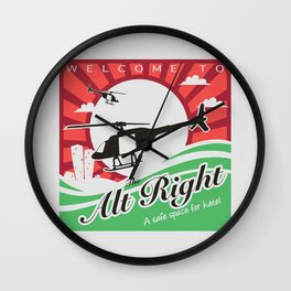Welcome to the Alt Right Wall Clock