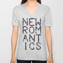 New Romantics Unisex V-Neck