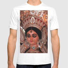 Durga Mens Fitted Tee White MEDIUM