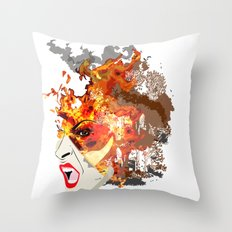 Fire- from World Elements Series Throw Pillow
