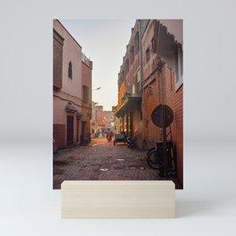 Rising Crescent (Marrakech) Mini Art Print
