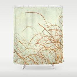 Wild Grasses Shower Curtain