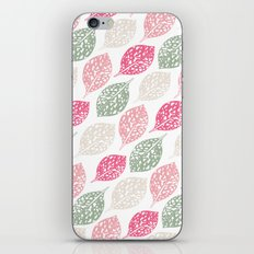 Leaf Print iPhone & iPod Skin