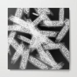 Abstract Xray 2 Metal Print