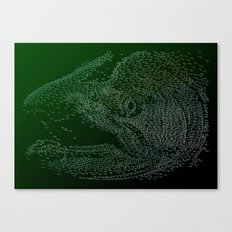 Chinook Hooks #1 Canvas Print
