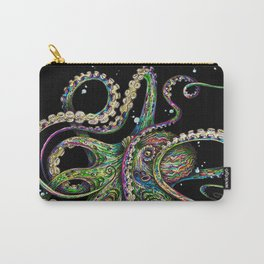 Octopsychedelia (black) Carry-All Pouch