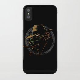 Undercover Ninja Mikey iPhone Case