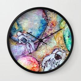 Space Walk 2019 Wall Clock