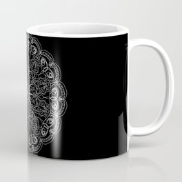 Mandala, Exhibits Radial Balance, Spiritual and Ritual Symbol Coffee Mug