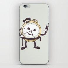 TimeCop iPhone & iPod Skin