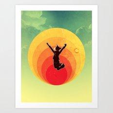 The Jumpurrr Art Print