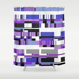 Debussy Little Shepherd (Purples) Shower Curtain